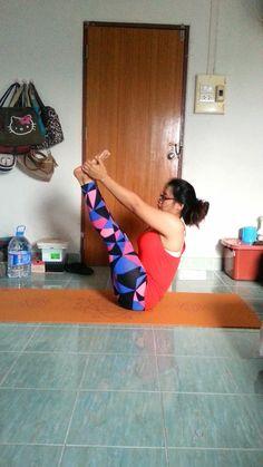 yoga pose august