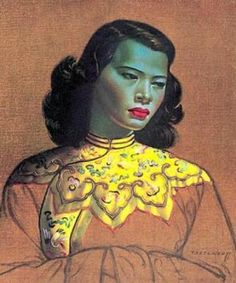 Vladimir Tretchikoffs Chinese Girl portrait nears £1 million mark at London auction
