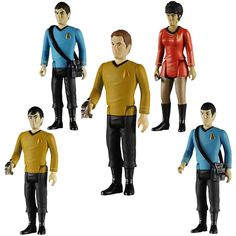 Star Trek ReAction Retro Action Figures
