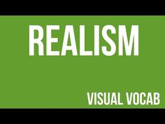 Realism defined - From Goodbye-Art Academy - YouTube