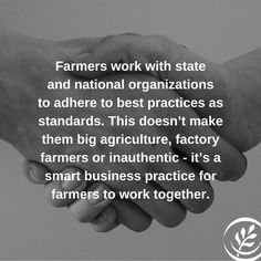 Farmers working together just makes sense.