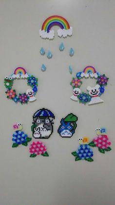 Hama Beads Design, Hama Beads Patterns, Seed Bead Patterns, Beading Patterns, Fuse Beads, Pearler Beads, Dit Gifts, Hama Beads Pokemon, Iron Beads