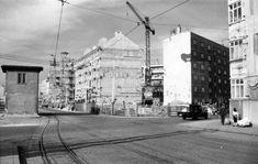 Bratislava, Street View, Crane Car