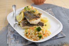 Ideias simples e saborosas. Lombos de pescada com molho de limão