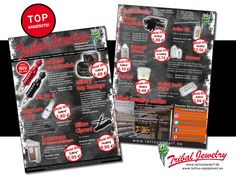 Ladet unseren Februar2017-Flyer runter - Neuheiten und Top Angebote rund um Tattoobedarf!  http://www.tribaljewelry.de/download/flyer-februar-2017/  Download our february flyer - new products and tattooequipment special offers!  #tribaljewelrysupply #tattoos #tattoosupply #tattooequipment #tattoobedarf