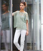 Ravelry: S8075 Ladies Crochet Top pattern by Tanja Steinbach ~ **Free Crochet Pattern**