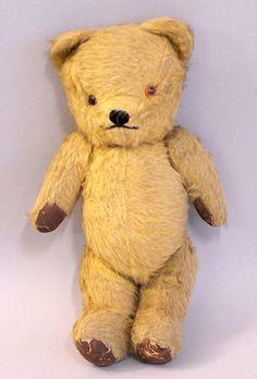 Cuddly & loved vintage bear