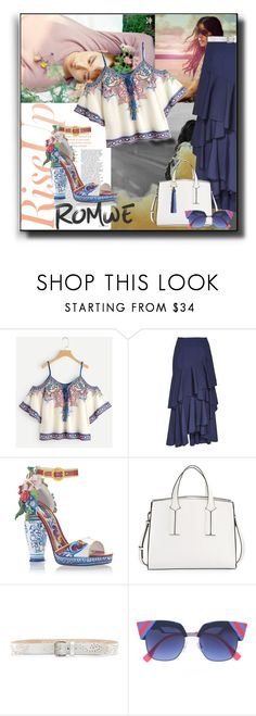 """""""Rise Up"""" by kelly-floramoon-legg on Polyvore featuring Alice + Olivia, Dolce&Gabbana, French Connection and Tory Burch"""