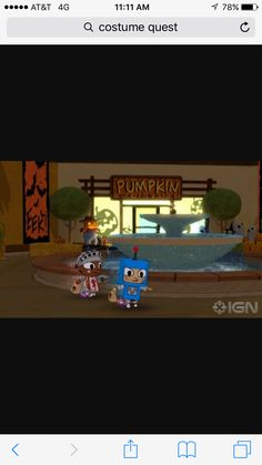 Second level in the game & 68 best Costume Quest images on Pinterest | Costume quest Cannon ...