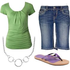 summer, created by jlmills on Polyvore
