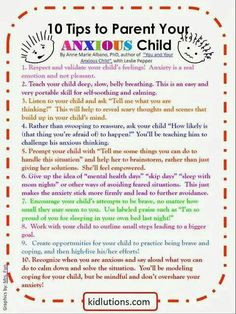 Kids and anxiety #ParentingTeacher