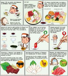 The difference between sushi and sashimi - Chef Taro Japanese Food Art, Japanese Dishes, Japanese Recipes, Taro Recipes, Asian Recipes, Sushi Recipes, Recipies, Sashimi, Sukiyaki