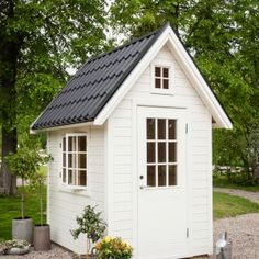 Micro House, Tiny House, Tiny Tiny, She Sheds, Shed Design, Garden Sheds, Pots, House Plans, Buildings