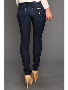 Skinny Hudson jeans to wear with boots.  Everyone looks good in Hudson.  #ABFallStyle