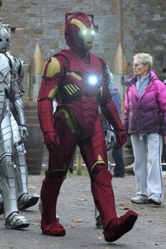The Iron Cyberman is the best (fake) cosplay mashup of 2012