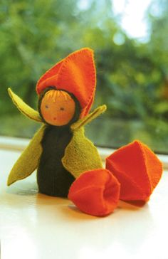 chinese lantern doll for fall