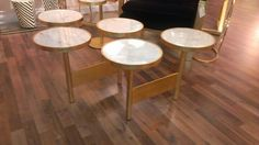 High style Eric G coffe table at Worlds Away. I love to stack two together for maximum impact. #hpmkt