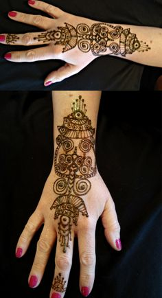 Whoop Whoop! Round 6 of the Big Henna Contest! This is inspired by Pre-Columbian Gold jewelry. Please help me make it to the next round, you can vote by clicking the heart and re-pinning it. Thank you!!!
