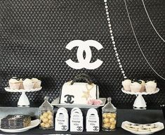Chanel Themed 21st birthday party {Guest Feature} — Celebrations at Home