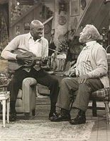 Scatman Crothers - you'd think my toddler was a teenager at a rock show, the way she ate up this performance on Sanford & Son, with Al Williams tap dancing after to put icing on the cake