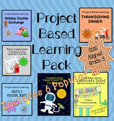 A year's worth of Project Based Learning for 5th grade Math - Common Core Aligned (On sale for $15)