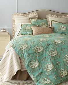Sherry Kline Home Collection  Meadow Wreath Bedding