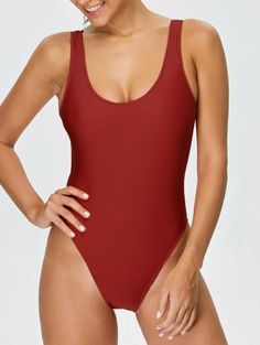 SHARE & Get it FREE | High Cut Backless Swimsuit - RedFor Fashion Lovers only:80,000+ Items • New Arrivals Daily Join Zaful: Get YOUR $50 NOW!