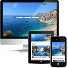Mobile responsive website design for Kalkan Holidays