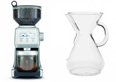 Burr Grinder & Chemex  amazon.com | Burr Grinder: $200, Chemex: $37  Coffee geekery is sweeping this country by storm. Does your valentine want to get in on the action? Start them off with two essentials: a burr grinder and Chemex coffee maker.