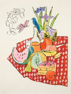 Andy Warhol 'The Picnic' 1959-1960