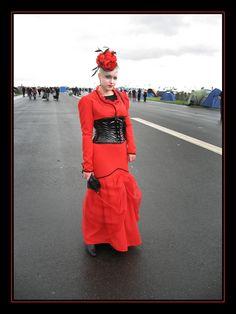 Lady In Red von Marcel Sendig - M'era Luna Festival 2008