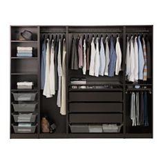 Ikea schwarzbraun schrank  1internotrama.jpg (640×480) | Dressing Room | Pinterest