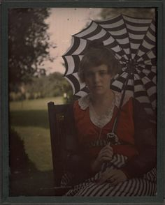 Autochrome portraits ca. 1915, via the Beinecke Rare Book & Manuscript Library