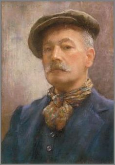 Self Portrait by Henry Scott Tuke