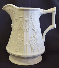 Handmade porcelain pitcher by Boehm - from the US Vice President and his family