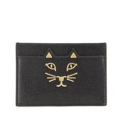 Porte-cartes Charlotte Olympia
