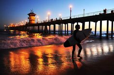 on a day I'm missing SoCal, our old neighborhood and amazing friends ... this just brings back amazing memories and makes me smile so deeply! Huntington Beach Pier - the first beach Meg ever visited at 15 days old!