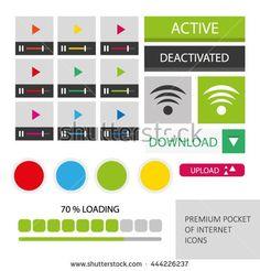 Set Of Internet Useful Icons