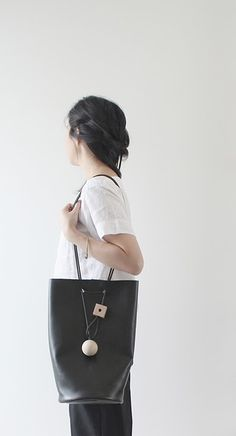 Simple + Unique bags from Building Block (Japan).