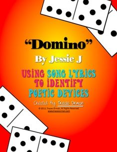by Jessie J Figurative Language Poetic Devices Activity Use Jessie J's popular song to teach poetic devices/figurative language.Use Jessie J's popular song to teach poetic devices/figurative language. Teaching Activities, Teaching Tools, Teaching Resources, Teaching Ideas, Creative Teaching, Classroom Activities, Classroom Organization, Classroom Ideas, Jessie J Songs