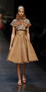 Dolce & Gabbana Women Fashion Show Gallery – Spring Summer 2013 Collection