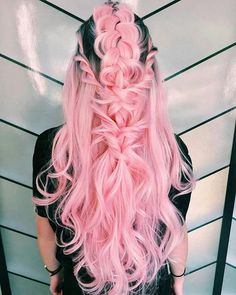 19 Acconciature perfette per Pretty Looks 2018 / Pretty Hairstyles, Girl Hairstyles, Braided Hairstyles, Wedding Hairstyles, Romantic Hairstyles, Fantasy Hairstyles, Hairstyles 2018, Pelo Color Gris, Pastel Hair