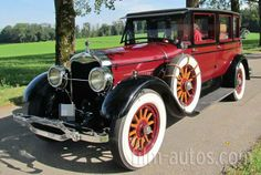 Ford Lincoln Model L Dietrich Berline Bild