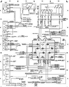 89 jeep yj wiring diagram jeep wrangler yj electrical service rh pinterest com wiring diagram jeep yj Jeep YJ Ignition Wiring