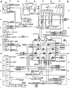 89 jeep yj wiring diagram jeep wrangler yj electrical rh pinterest com wiring diagram jeep wrangler jk wiring diagram jeep wrangler 2011