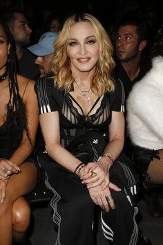 Madonna /Alexander Wang & Adidas - spring 2017 - Fashion Show Front Row