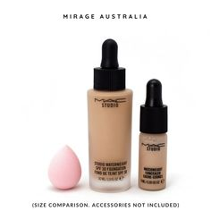 mini Sorbet Pink for hard to reach areas. Blend out your MAC Studio Waterweight foundation & concealer like a boss. Shop Now Boss Shop, Mini Makeup, Makeup Sponge, Sorbet, Concealer, Im Not Perfect, Foundation, Perfume Bottles, Mac