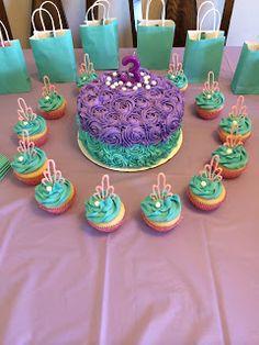Corn on the Monkey: Little Mermaid birthday party