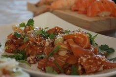 Lizasmatverden-Livet med tre store og en liten: Salma sashimi