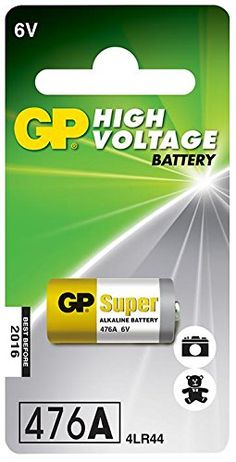 buy now   £1.82   The product image is for illustrative purposes only. Please read the product Technical Details section.Battery Technology: Alkaline.Battery Capacity: 105mAh.Battery Voltage: 6V.Battery Size Code: 4  ...Read More